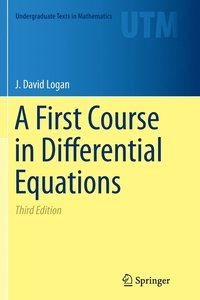 bokomslag A First Course in Differential Equations