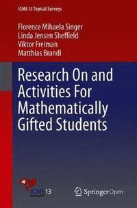 bokomslag Research On and Activities For Mathematically Gifted Students