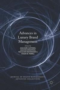 bokomslag Advances in Luxury Brand Management