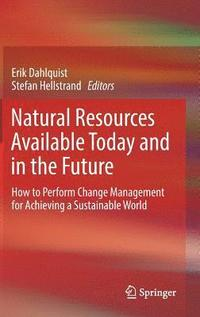 bokomslag Natural Resources Available Today and in the Future