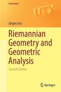 bokomslag Riemannian Geometry and Geometric Analysis