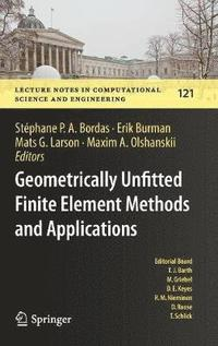 bokomslag Geometrically Unfitted Finite Element Methods and Applications
