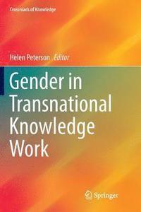 bokomslag Gender in Transnational Knowledge Work