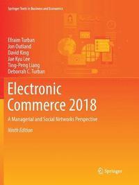 bokomslag Electronic Commerce 2018