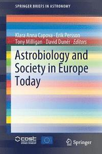 bokomslag Astrobiology and Society in Europe Today