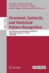 bokomslag Structural, Syntactic, and Statistical Pattern Recognition