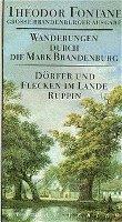 bokomslag Wanderungen durch die Mark Brandenburg 6