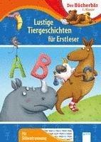 bokomslag Lustige Tiergeschichten für Erstleser