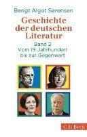 bokomslag Geschichte der deutschen Literatur Bd. II: Vom 19. Jahrhundert bis zur Gegenwart