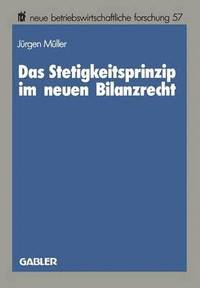 bokomslag Das Stetigkeitsprinzip Im Neuen Bilanzrecht