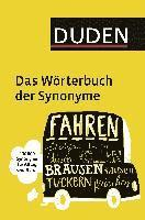 bokomslag Duden - Das Wörterbuch der Synonyme