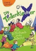 bokomslag Die Tintenkleckser 1 - Mit Schlafsack in die Schule