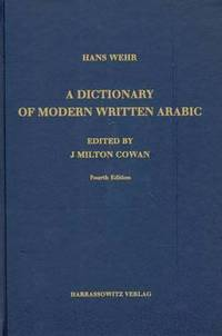bokomslag A Dictionary of Modern Written Arabic