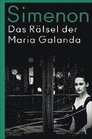 bokomslag Das Rätsel der Maria Galanda