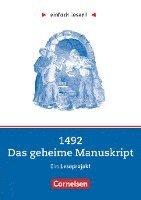 bokomslag einfach lesen! Niveau 2. 1492 - Das geheime Manuskript. Arbeitsbuch mir Lösungen