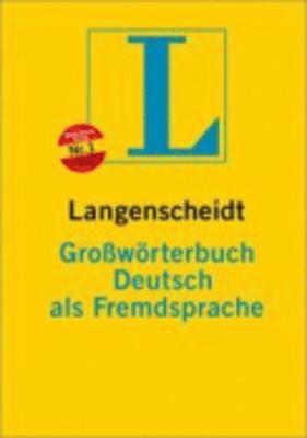 bokomslag Langenscheidts Grossworterbuch Deutsch als Fremdsprache