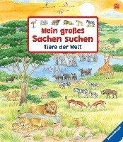bokomslag Mein großes Sachen suchen: Tiere der Welt