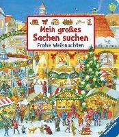 bokomslag Mein großes Sachen suchen: Frohe Weihnachten