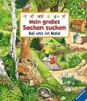 bokomslag Mein großes Sachen suchen: Bei uns im Wald