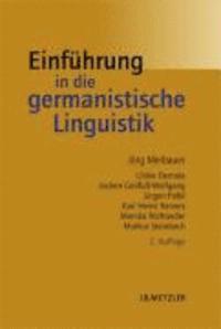 bokomslag Einführung in die germanistische linguis
