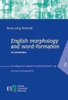 bokomslag English morphology and word-formation