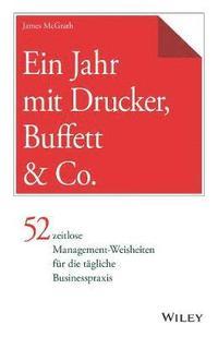 bokomslag Ein Jahr mit Drucker, Buffett &; Co.