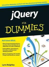 bokomslag jQuery fur Dummies