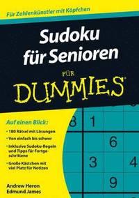 bokomslag Sudoku fur Senioren fur Dummies