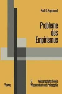 bokomslag Probleme Des Empirismus