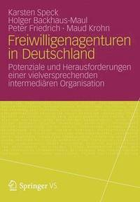 bokomslag Freiwilligenagenturen in Deutschland