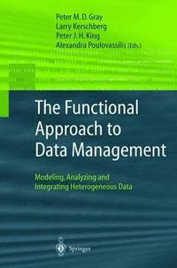 bokomslag The Functional Approach to Data Management