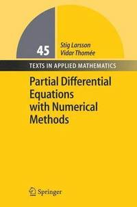 bokomslag Partial Differential Equations with Numerical Methods