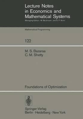 bokomslag Foundations of Optimization