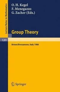 bokomslag Group Theory