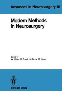 bokomslag Modern Methods in Neurosurgery
