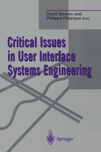 bokomslag Critical Issues in User Interface Systems Engineering