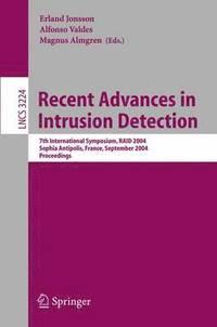 bokomslag Recent Advances in Intrusion Detection