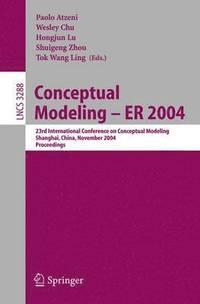 bokomslag Conceptual Modeling - ER 2004