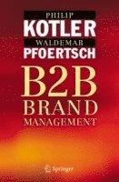 bokomslag Business-To-Business Brand Management