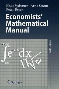 bokomslag Economists' Mathematical Manual