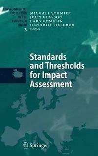 bokomslag Standards and Thresholds for Impact Assessment