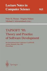 bokomslag TAPSOFT '95: Theory and Practice of Software Development