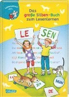 bokomslag LESEMAUS zum Lesenlernen Sammelbände: Das große Silben-Buch zum Lesenlernen