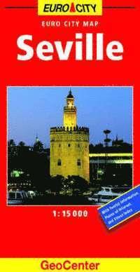 bokomslag Seville geocenter city map