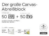 bokomslag Der große Canvas-Abreißblock