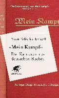 bokomslag «Mein Kampf» - Die Karriere eines deutschen Buches