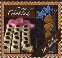 bokomslag Choklad box - bok, 12 pralinformar & doppspiraler