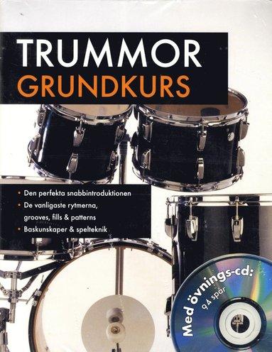 bokomslag Trummor Grundkurs Med övnings-cd