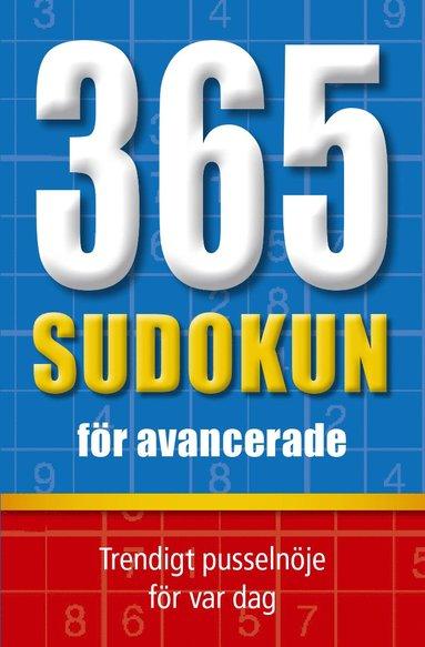bokomslag 365 sudokun för avancerade