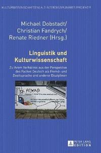 bokomslag Linguistik Und Kulturwissenschaft